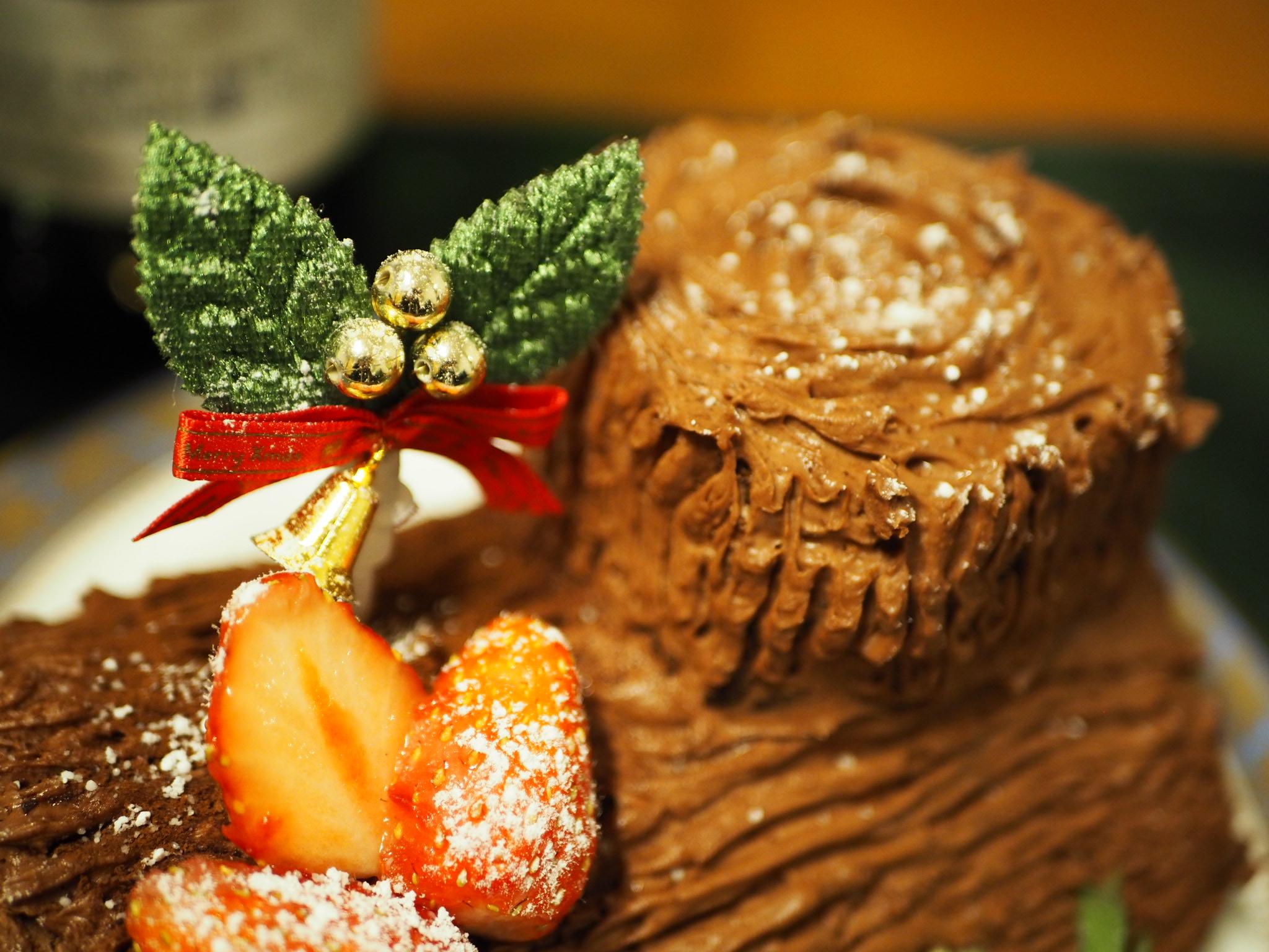 【#手作りクリスマスケーキ】簡単!ブッシュドノエルの作り方♡_6