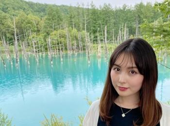【北海道観光】美瑛町の青い池に行って来ました♪