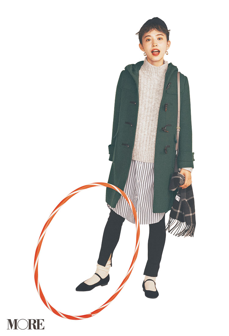 スカート、ニットにコートも! 冬のきれいめ【GUコーデ】まとめ | ファッション_1_4