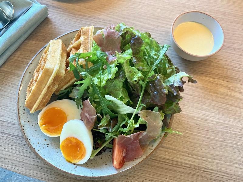 「ブルーボトルコーヒー 渋谷カフェ」限定メニューのブランチプレート