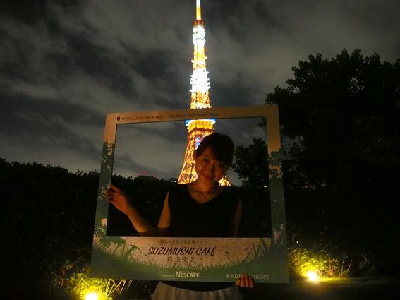本日8/6から18日までの期間限定【SUZUMUSHI CAFE(スズムシカフェ)】で東京タワーを見ながら一杯どうぞ!_10