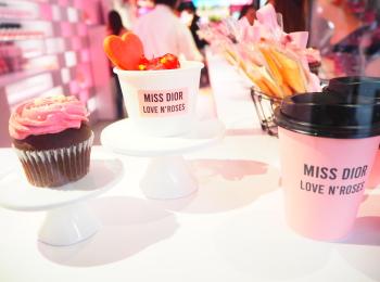 【Dior展示会】LOVE N'ROSES に行ってきました♡ 限定トートバッグもGET♡