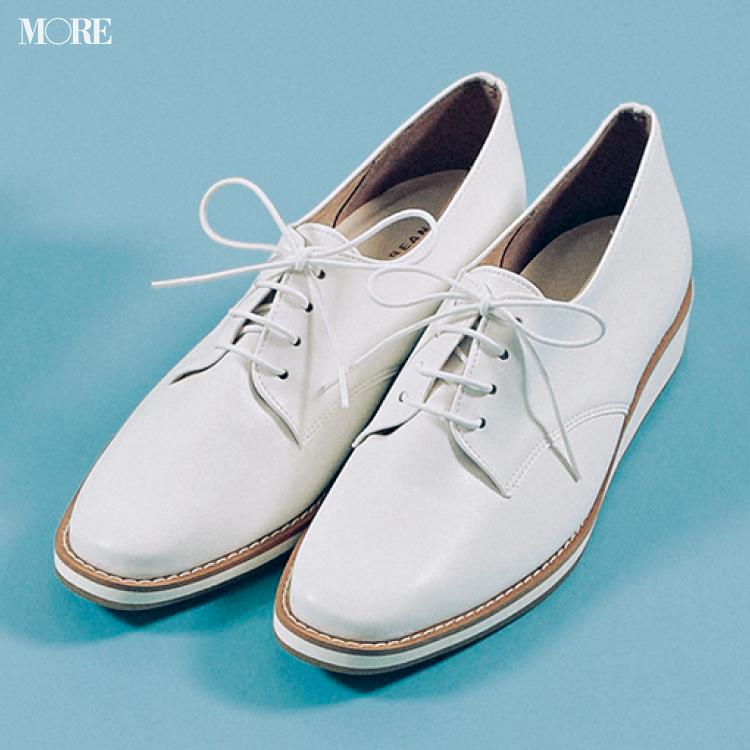 「おしゃれな軽さ」には真っ白なおじ靴が効果的♡ 夏から秋まで絶対使える一足をピックアップ!_3