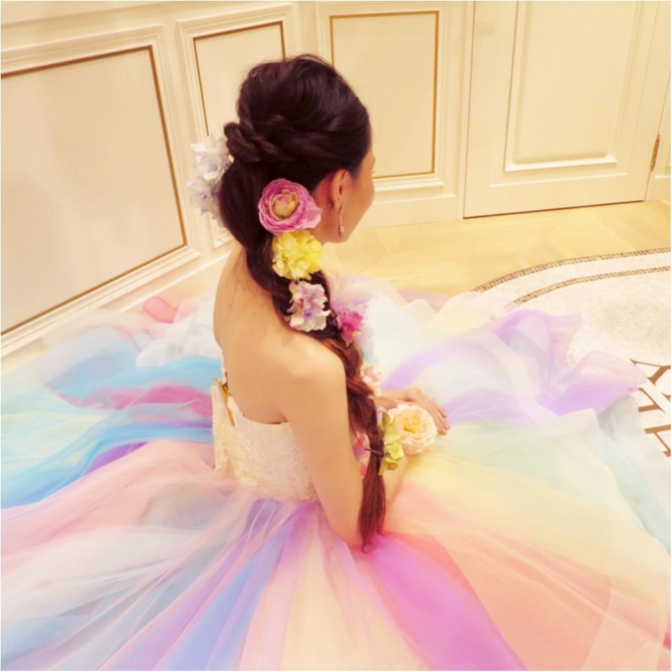 【Wedding】ウェディングドレス《 THE HANY(ザハニー) 》で人気No.1のレインボードレスがかわいすぎる♡_5