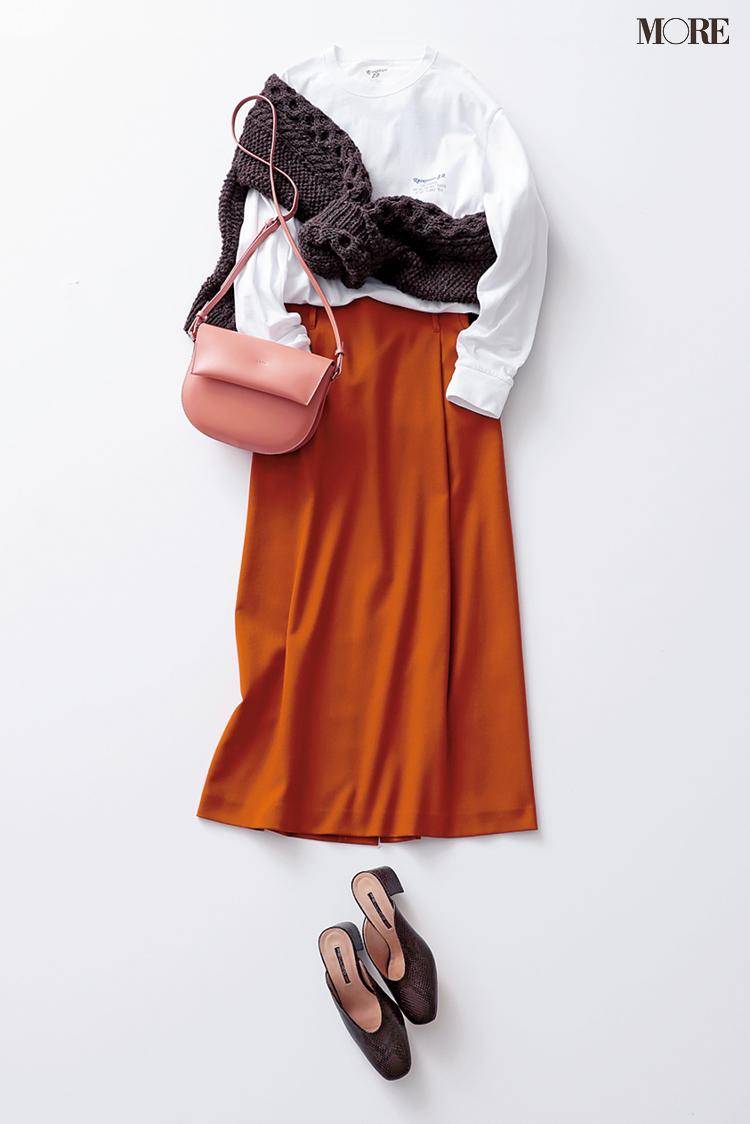 「山田くんから連絡!……ちょっとホッとした私」鈴木友菜主演・着回し連載『柄アイテムが必要だ。』18日目_1