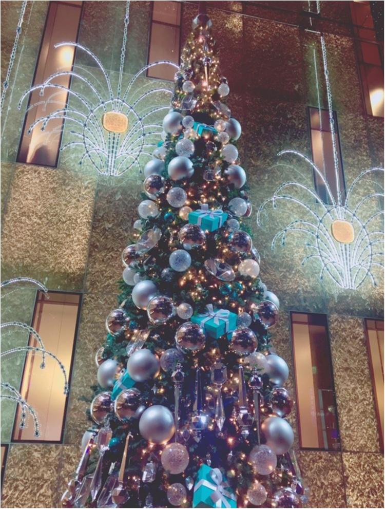"""【♥︎♥︎♥︎】12/25まで! """"さすが…♡!"""" 銀座 Tiffany & Co のクリスマスが可愛すぎる件。 etc…_4"""