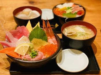 【新千歳空港グルメ】本場の海鮮丼を食べるならココ!鮮魚店直営《どんぶり茶屋》★