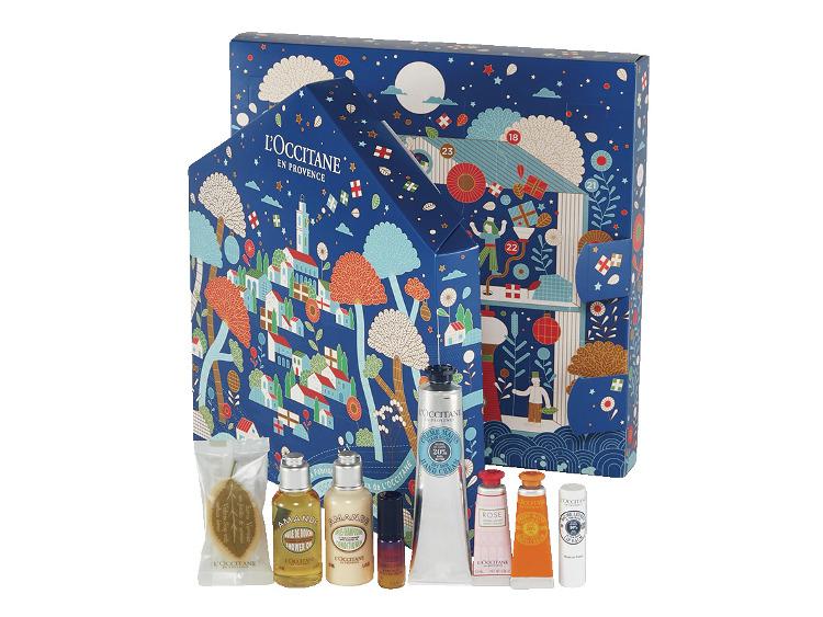 2021クリスマスコフレプレゼントのロクシタンアドベントカレンダー2021
