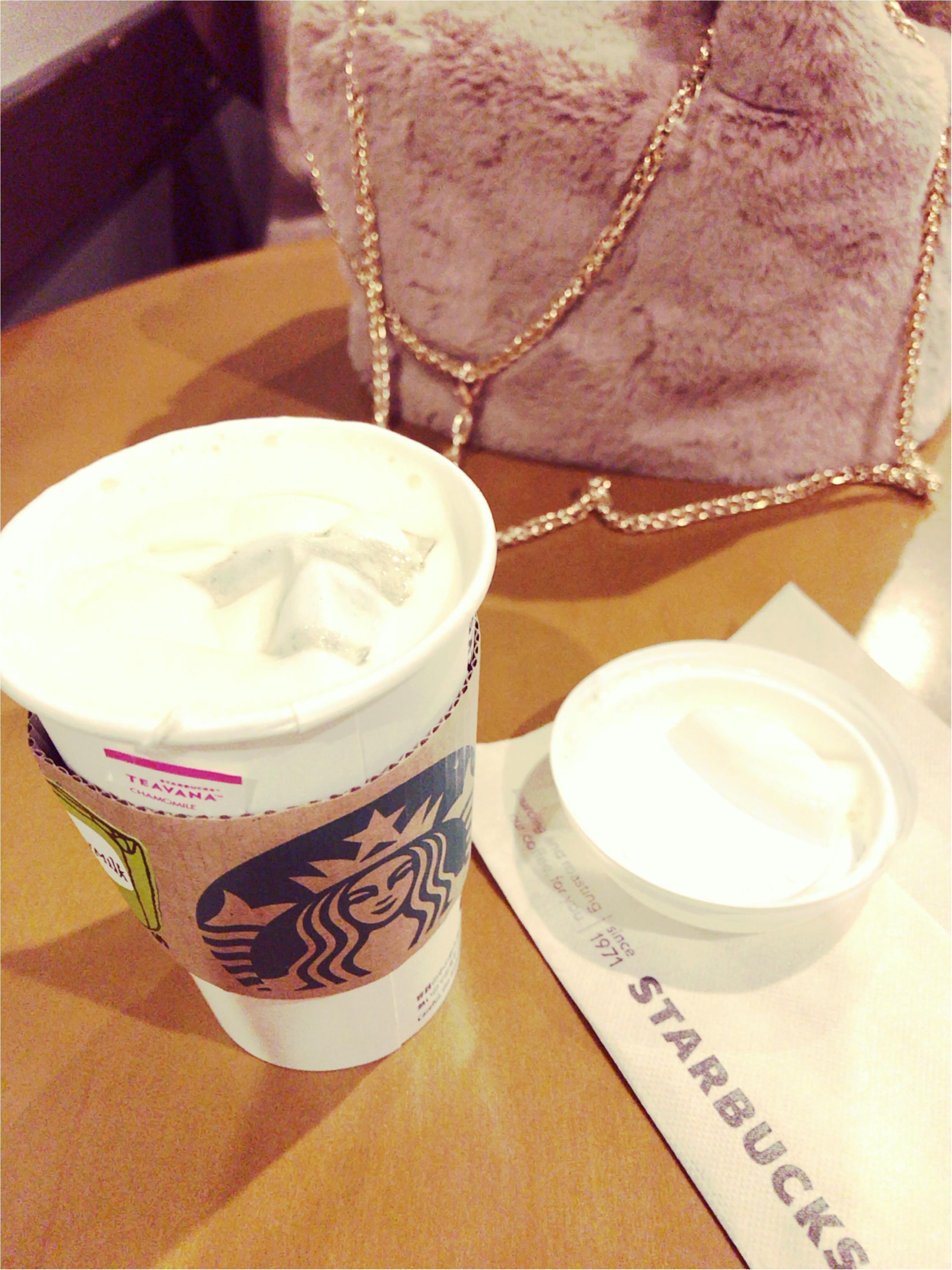 甘くて心も温まる♡コーヒーが苦手な方にもおすすめのスタバのメニュー♡_1