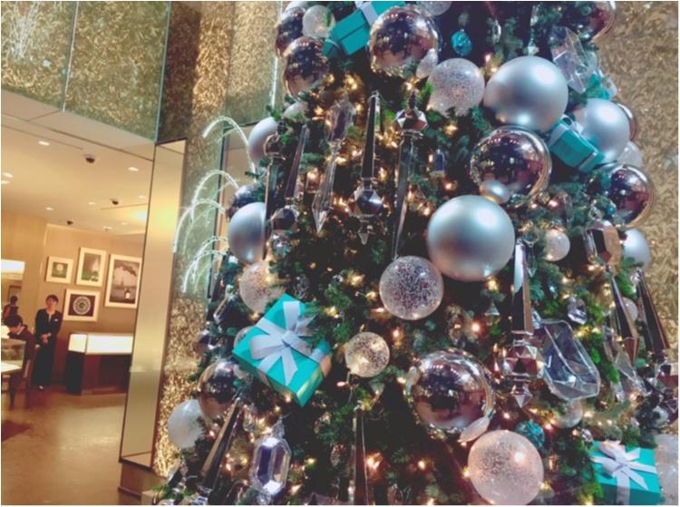 """【♥︎♥︎♥︎】12/25まで! """"さすが…♡!"""" 銀座 Tiffany & Co のクリスマスが可愛すぎる件。 etc…_5"""