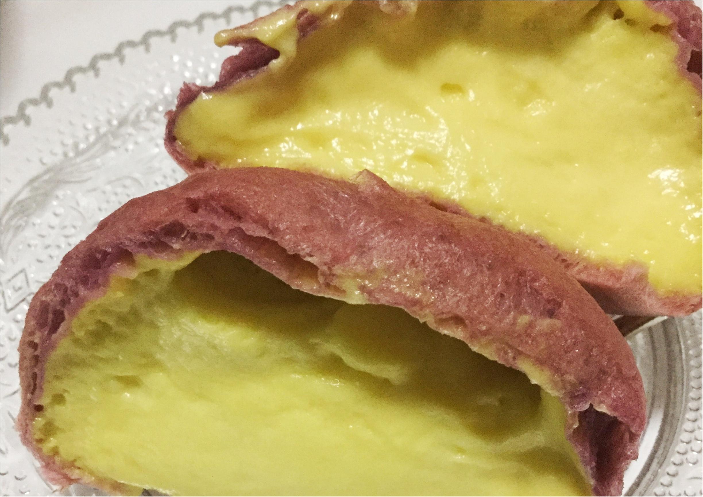 【秋スイーツ】秋といえばサツマイモ!セブンイレブンから発売されたお芋シュークリーム《宮崎紅のさつまいもこ》にハマり中❤️_3