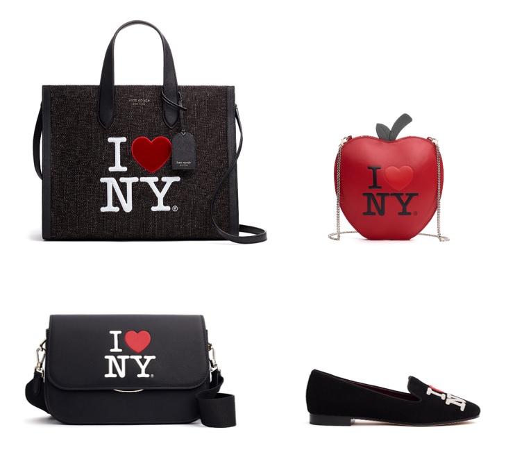 ケイトスペードの新作コレクション、バッグと靴