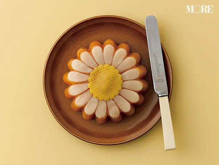 HOLLÄNDISCHE KAKAO-STUBEのマーガレット形ケーキ