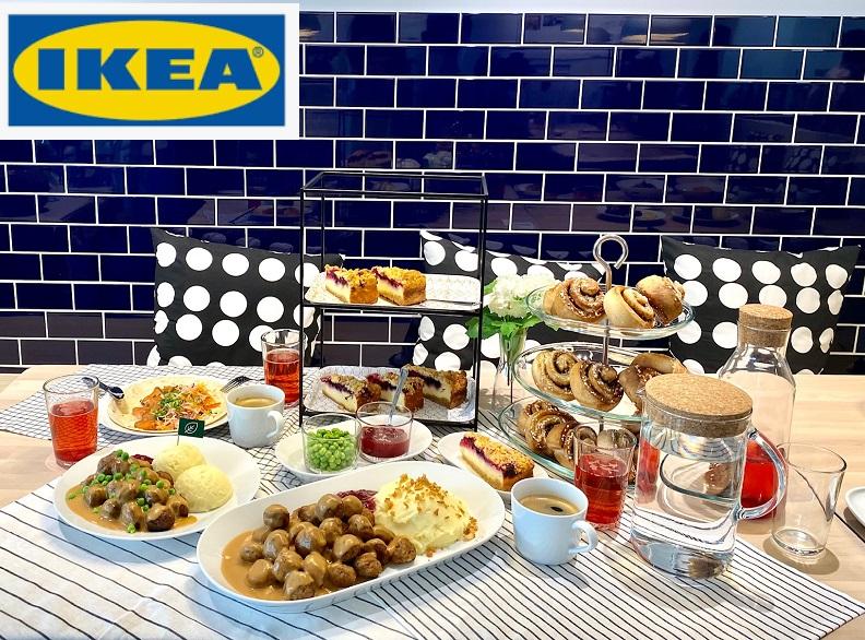 「IKEA 渋谷 スウェーデンレストラン」のさまざまなメニュー