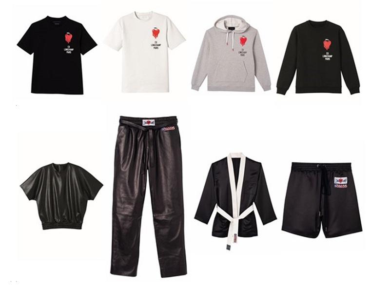 ロンシャン×EU Tシャツやパンツなどのウェア