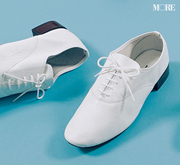 「おしゃれな軽さ」には真っ白なおじ靴が効果的♡ 夏から秋まで絶対使える一足をピックアップ!_6