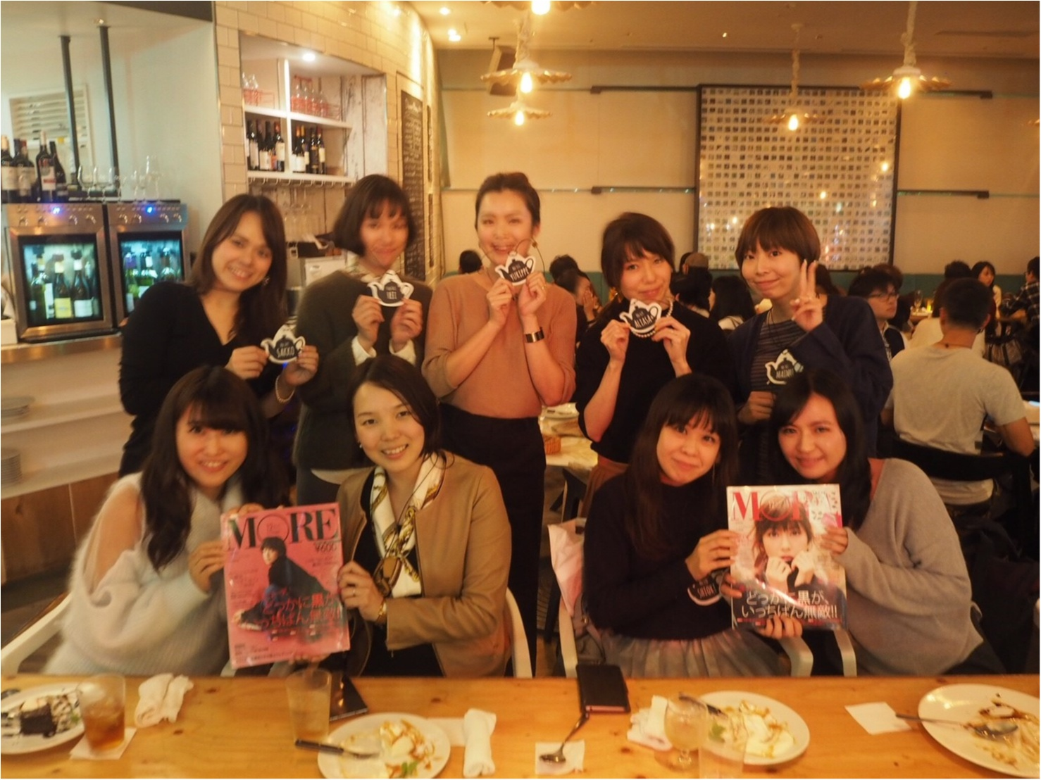 大阪梅田、GARB MONAQUEで関西モアハピ女子会♡_1