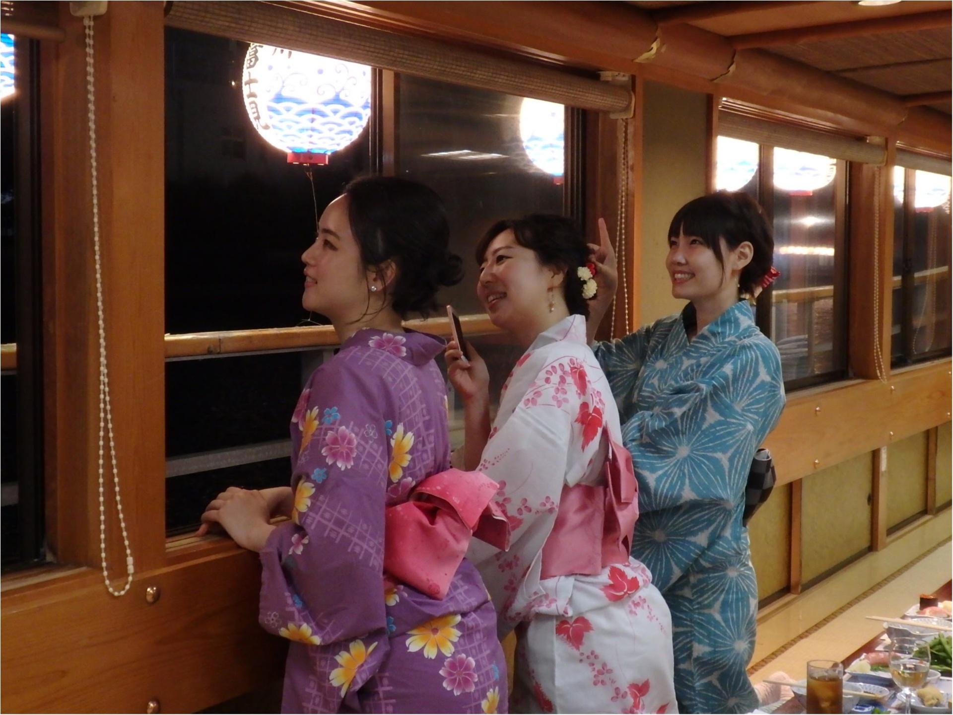 ゆかた屋形船女子会♡MORE8月号掲載『トレンドプレゼン大会』裏側レポ♡_12