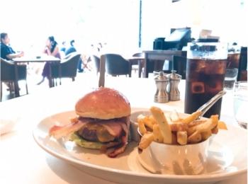 【ランチ】高級ステーキ店でこのお値段?!六本木で贅沢ハンバーガー♡