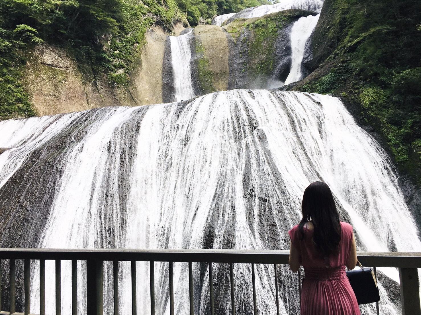 袋田の滝の写真 大子町