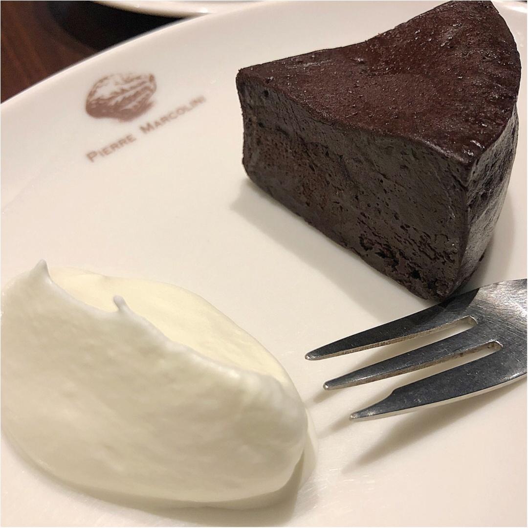 超絶品♡世界的に有名なピエールマルコリーニの高級カフェが銀座にあるんです♡_3