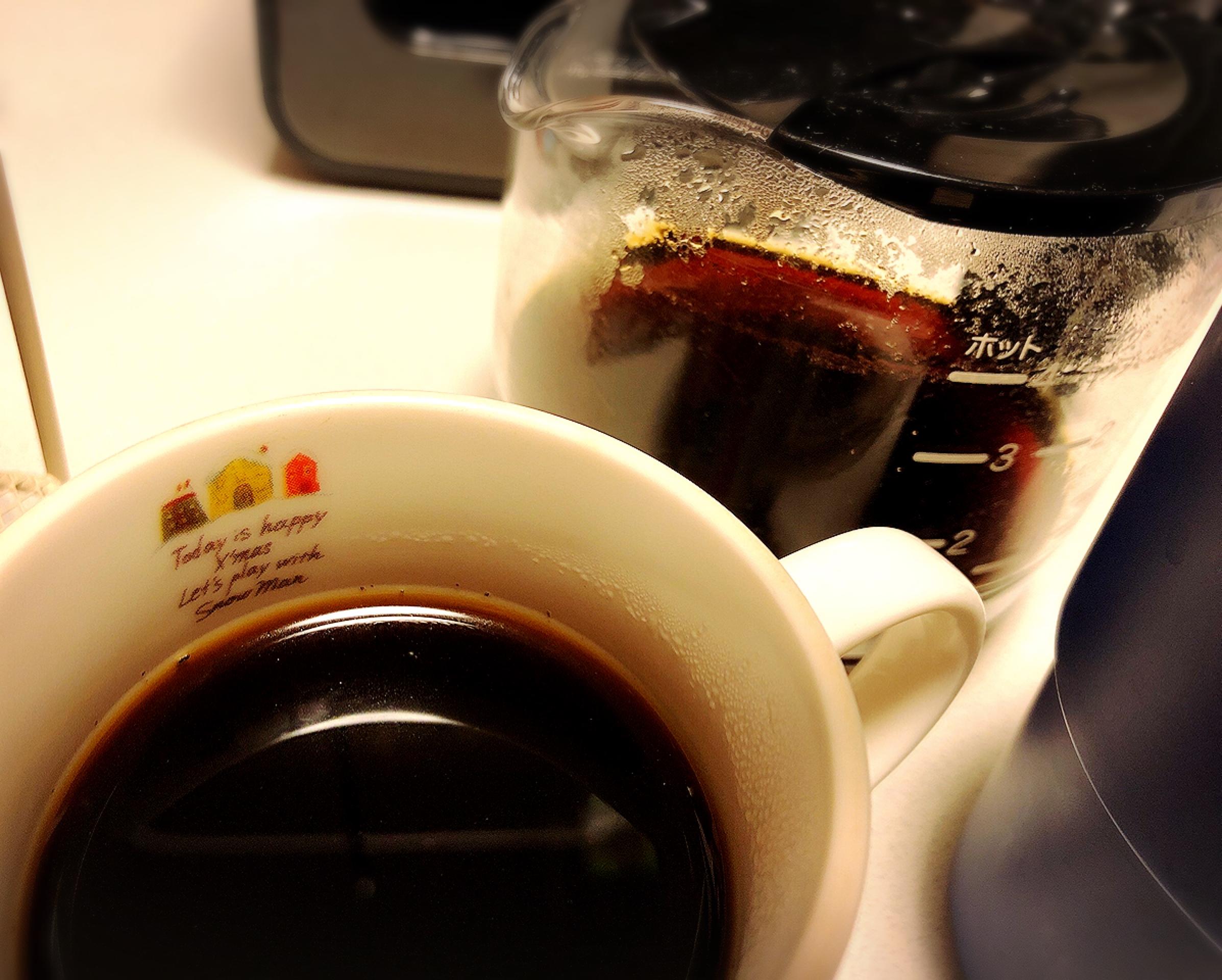 【#キッチン家電】おうちカフェ コンパクトで可愛いのに超優秀☕︎豆から挽ける簡単3ステップコーヒーメーカー♩_4