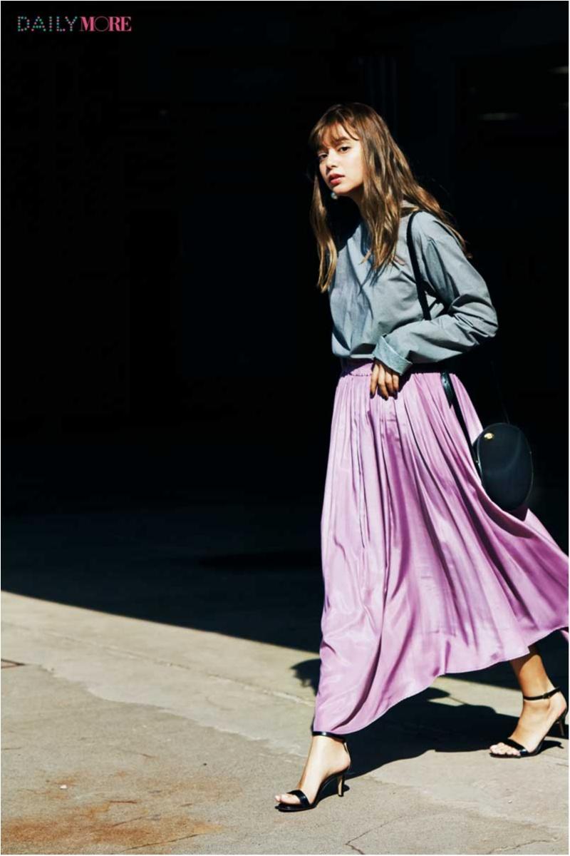 【ただ着るだけで即いい女っぽくなれる♪】この春、4大定番スカートが大人に進化してるらしい‼_1_1