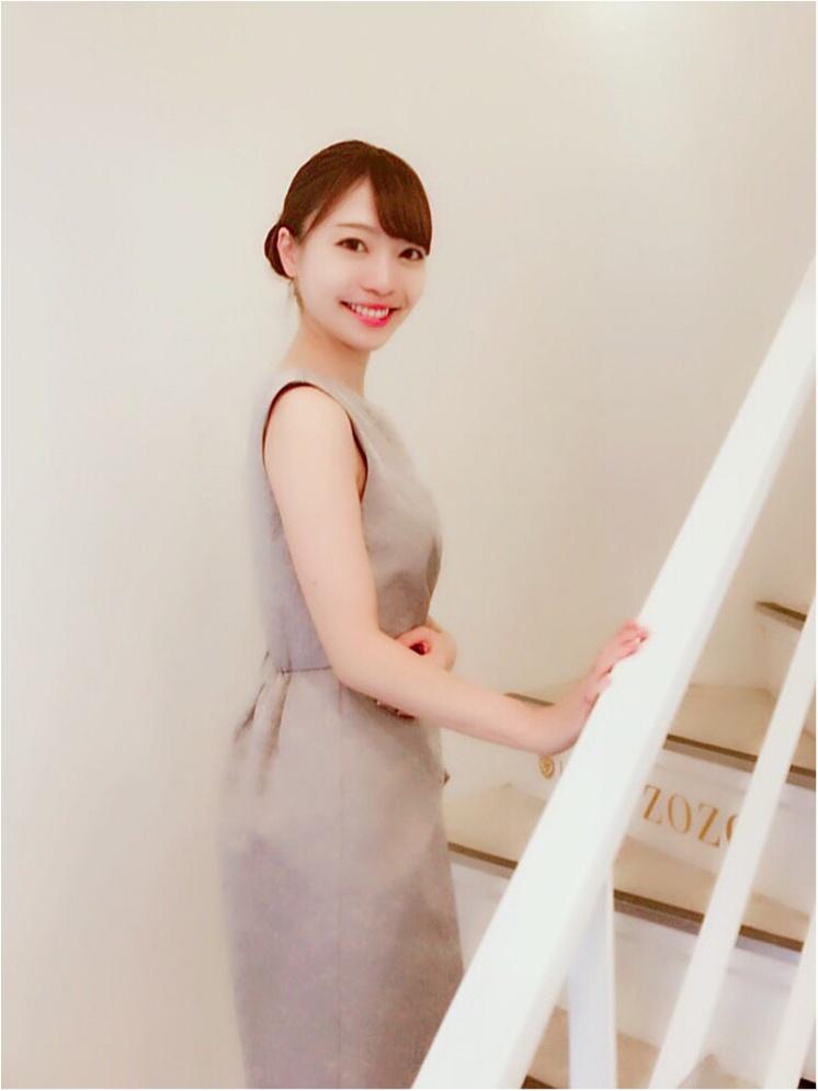【結婚式二次会】お呼ばれコーデとヘアアレンジ❤︎_8