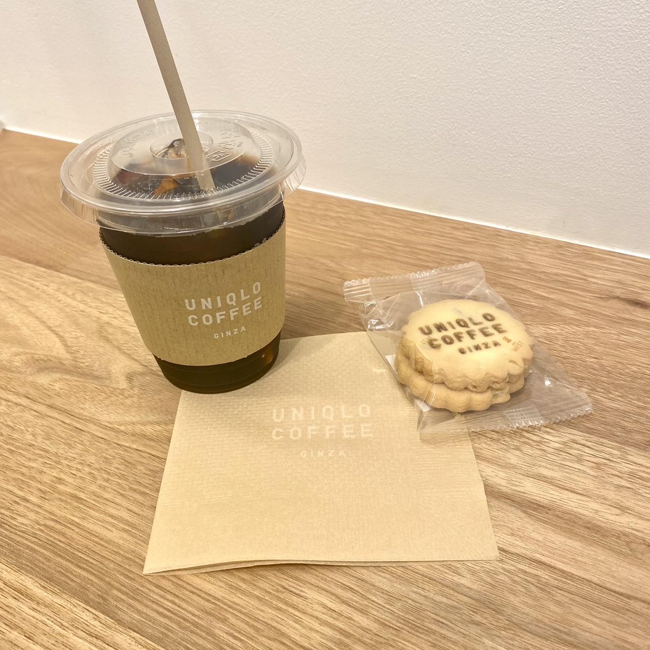 オリジナルコーヒーとバタークッキー