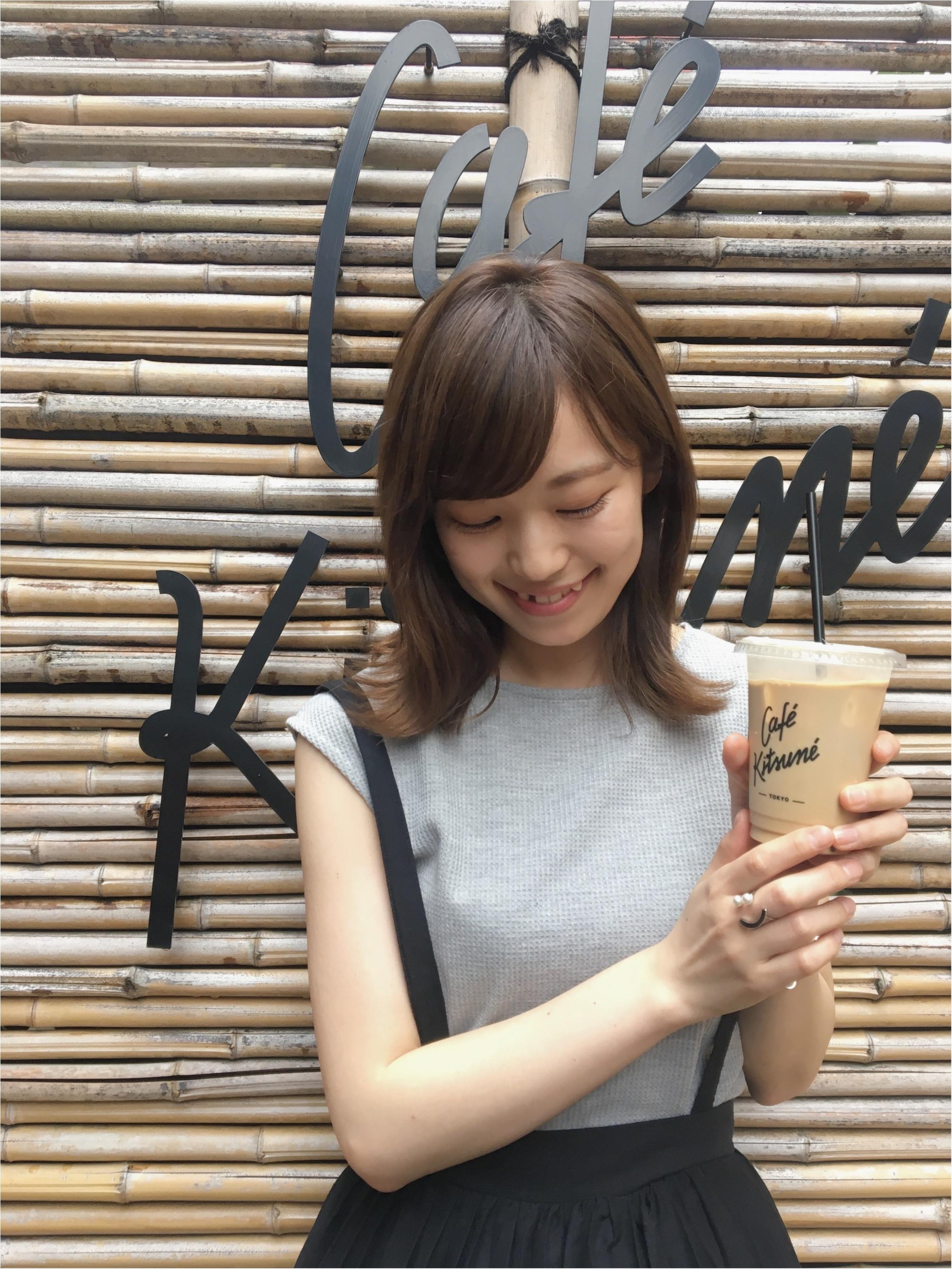 ★表参道にいったらココに行くべし!『cafe kitsune』の京都のような和空間で癒しタイム!_2