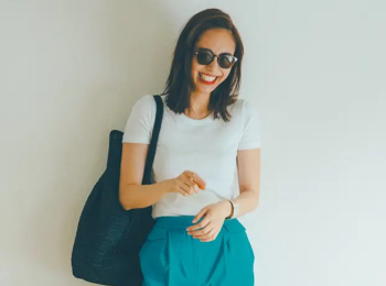 白Tシャツコーデ特集 - 20代女性の大人可愛い夏のコーディネートまとめ