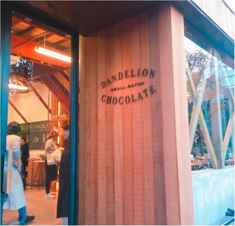 《サンフランシスコからやってきた注目のチョコレート工房♡》カカオ豆本来の味が楽しめるダンデライオンの絶品ホットチョコレートドリンク♡_1