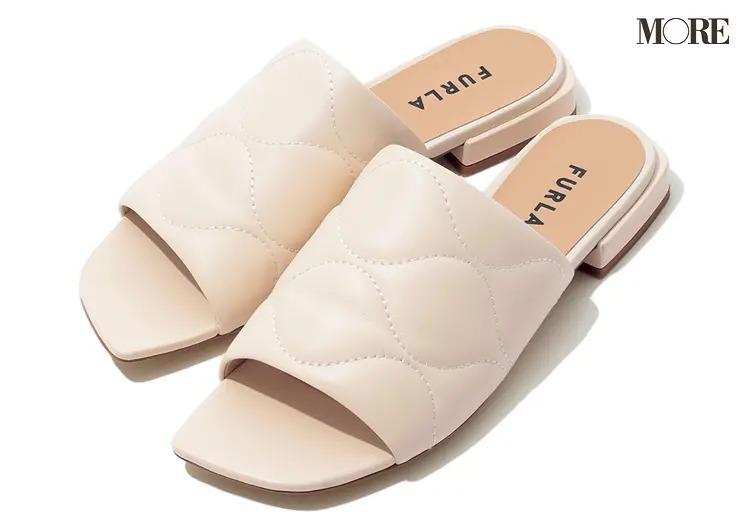 【2021春夏おすすめブランド靴】『FURLA』キルティングミュール