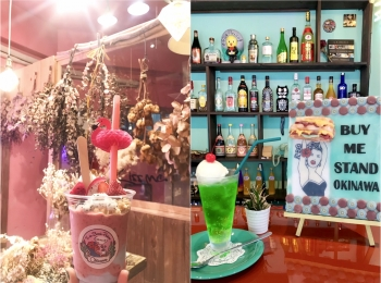 【沖縄女子旅】国際通りのかわいいカフェ♡ おしゃれスムージーと絶品サンドイッチのお店、教えます!
