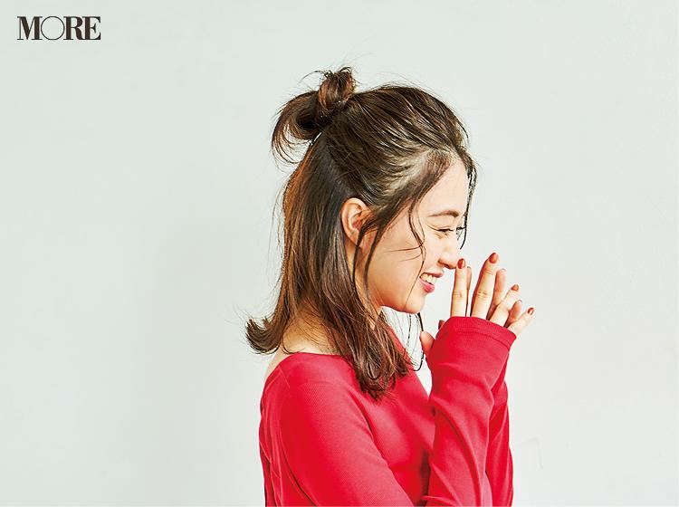 逢沢りなの「いい女ストレート」で大人っぽヘア。伸ばしかけミディアムやロングの人におすすめ【モアモデルズのヘアガイド③】_3