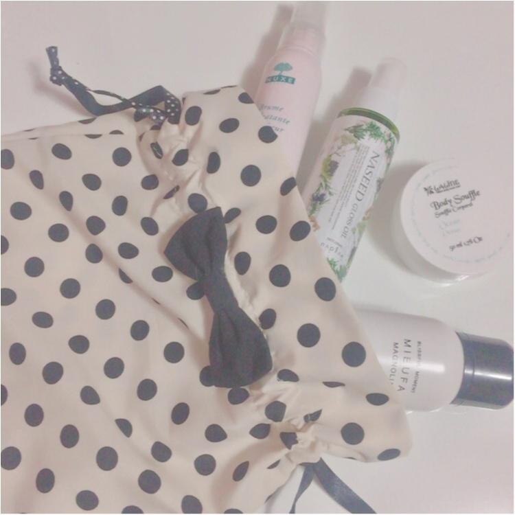 【DAISO】ドットの可愛い巾着が《¥100》❤︎❤︎❤︎❤︎❤︎ カバンの整理に便利♡_2