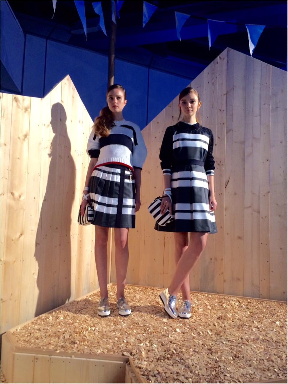 『ブルーレーベル・クレストブリッジ』の春コレクションを先取り! 新しいマリンスタイルにうっとり♡_4