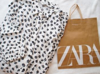《#ザラジョ 必見❤️》【ZARA】のSALEで見つけたお気に入りのワンピが使える!☻