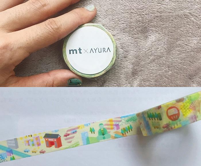 「mt × AYURA」の限定ボディシートに注目! UVジェル、マスキングテープがセットになった特別キットも登場♬_4