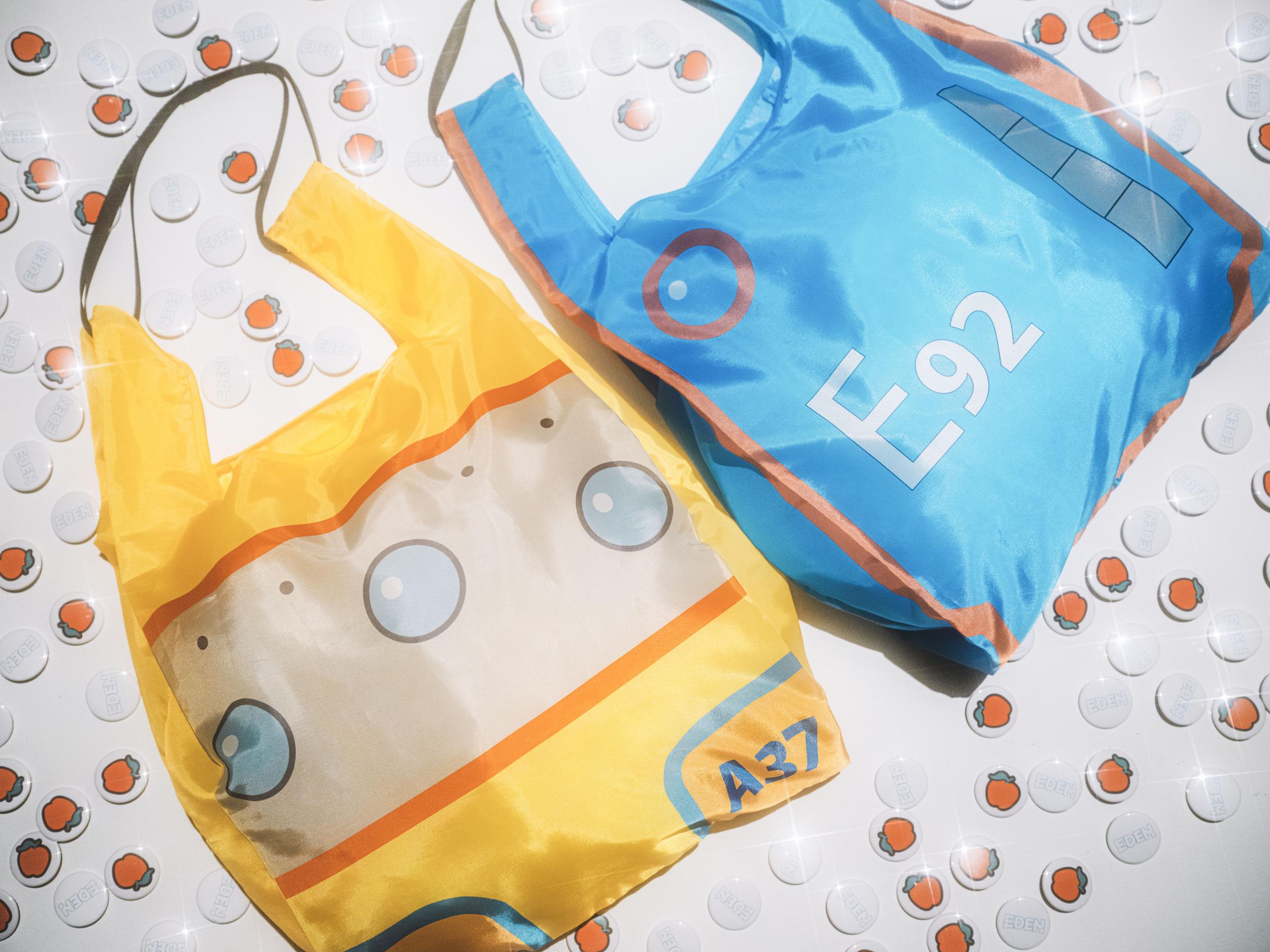 EDEN × BEAMS 3WAY SHOPPING BAG