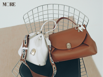 『フルラ』『ロンシャン』など最愛ブランドで♡ お仕事バッグは旬カラーを選ぼう