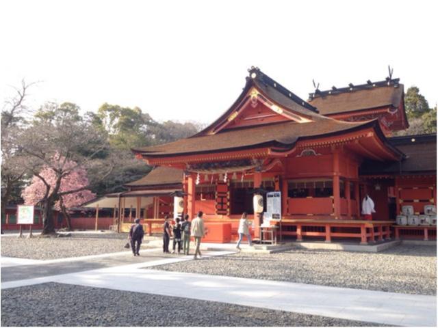境内から富士山が見える♡全国1,300社ある浅間神社の総本社【富士山本宮浅間大社】に初詣に行ってきました(*´ ˘ `*)_4