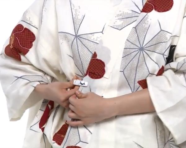 【わかりやすい動画付き】浴衣のセルフ着付け・帯の結び方 - 一人でできる! 女性の浴衣の着方は?_36