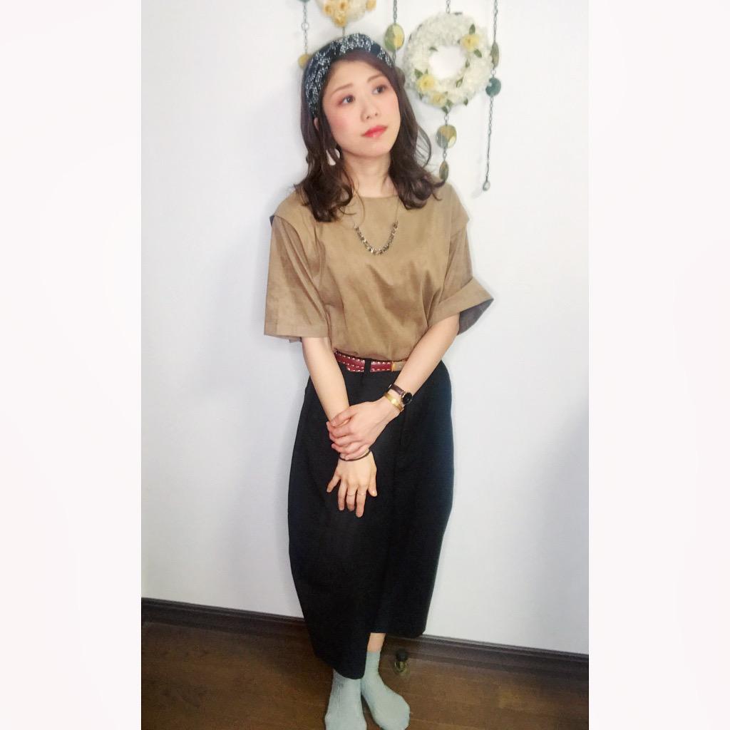 【オンナノコの休日ファッション】2020.5.19【うたうゆきこ】_1