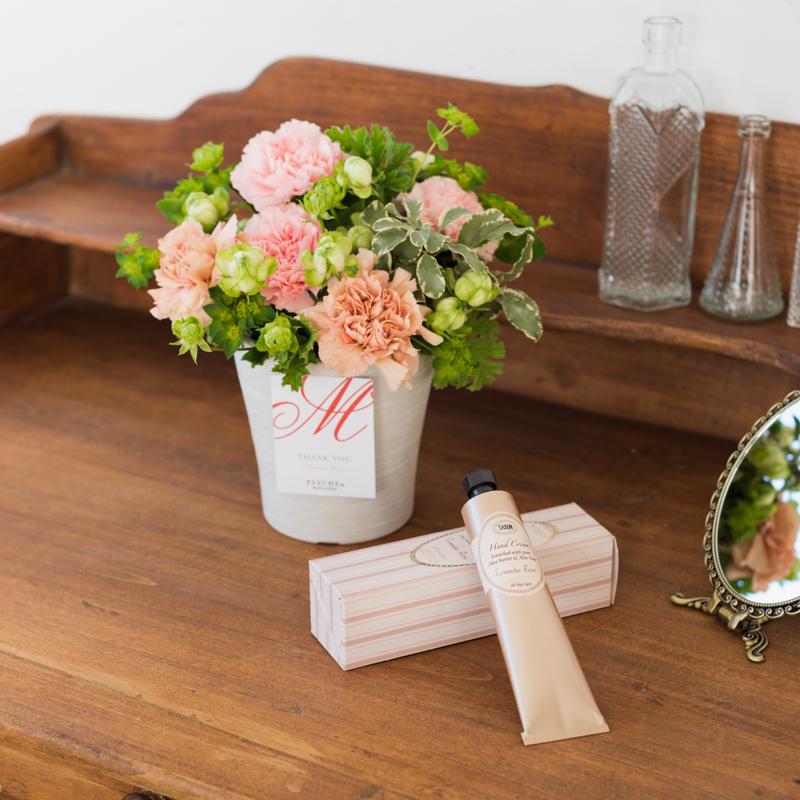 大好きなお母さんにお花と潤いを♡ フラワーブランド『PSYCHE&』と『SABON』のコラボギフトを予約しなくちゃ!_1_1