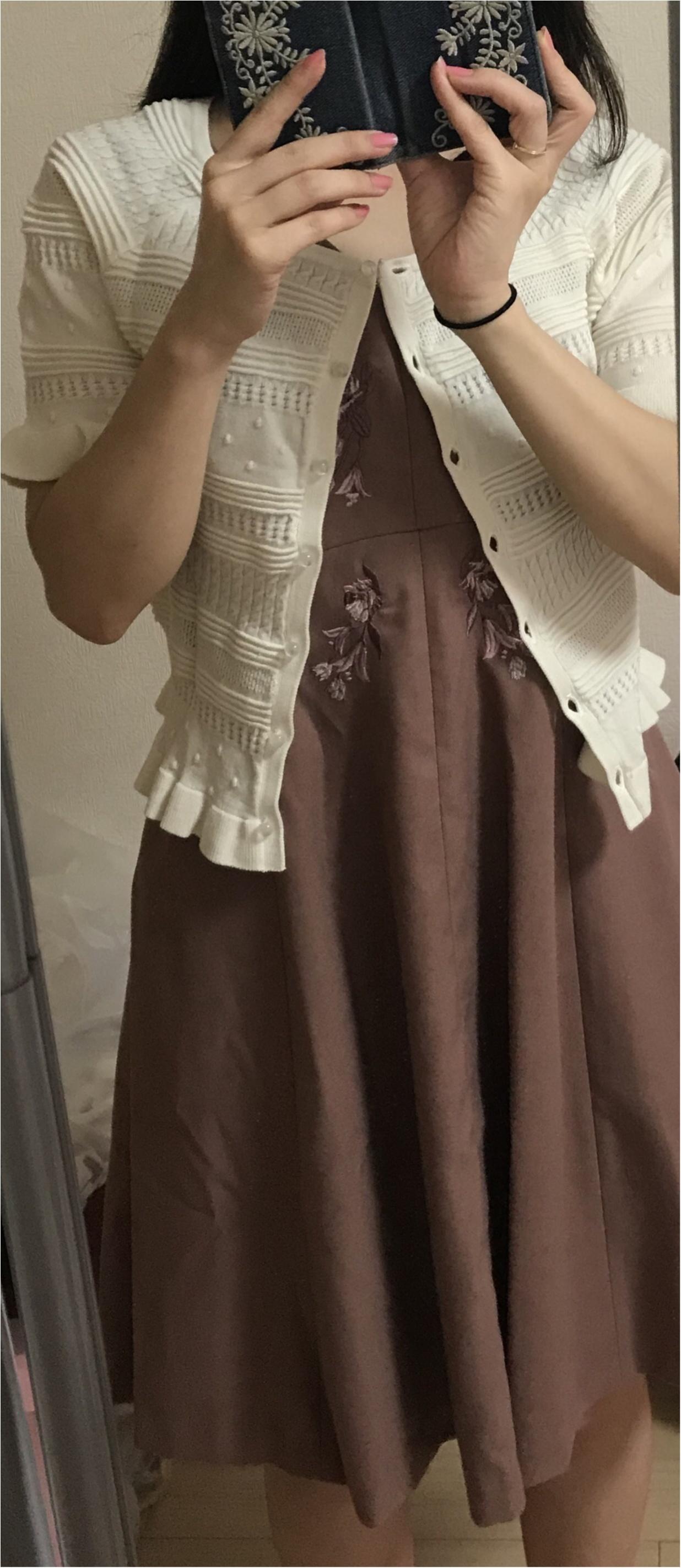 平成最後の夏!!この猛暑には半袖カーデが使える✨_2