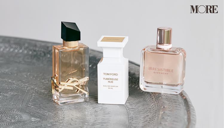 ジバンシイとトムフォードとイヴ・サンローランのフロリエンタルの香りの香水