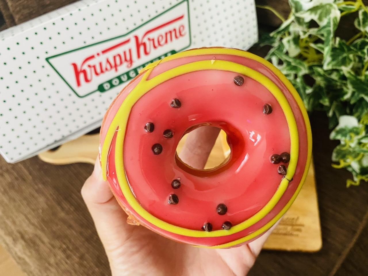 【クリスピー・クリーム・ドーナツ】まるでスイカとメロン♡初夏限定ドーナツが可愛すぎる!_2