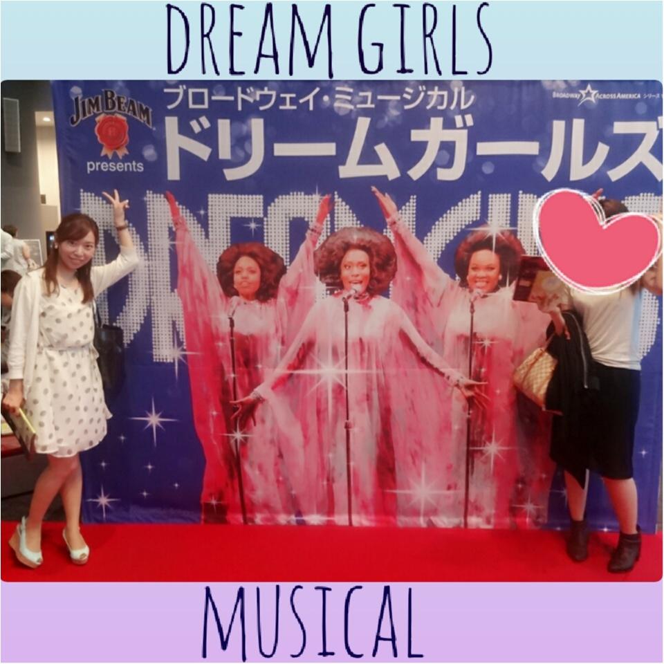 アフター5はミュージカル鑑賞♡ヒカリエ シアターオーブで観るDREAM GIRLS♡479ぱるるん_2
