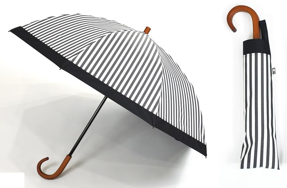母の日ギフトおすすめのサンバリア100のストライプ傘
